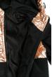 Куртка женская 120PVI001 junior черно-золотой