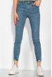 Модные женские джинсы  120PNR496 светло-синий