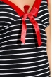 Ночная рубашка женская 107P043 сине-красный