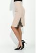 Юбка женская, классическая с кружевом 64PD179 кремовый
