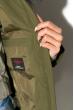 Куртка женская 120P1969 хаки