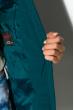Куртка женская 120P1969 темно-бирюзовый