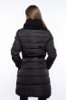 Женская куртка с хомутом 120PSKL9082 черный