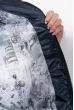 Пальто женское зимнее, стильный крой 69P01057 синий