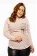 Свитер женский 120PNA1405 светло-розовый