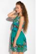 Платье женское 964K030 темно-бирюзовый