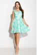 Платье женское 964K040 бирюзовый