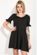 Платье женское, короткое, яркие цвета 74P101 черный