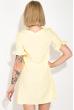 Платье женское, короткое, яркие цвета 74P101 желтый