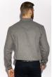 Рубашка с длинными рукавами 201P018 серый