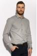 Рубашка с длинными рукавами 201P018 светло-серый