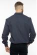 Рубашка с длинными рукавами 201P018 темно-синий
