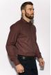 Рубашка с длинными рукавами 201P018 бордо