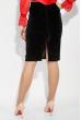 Костюм женский нарядный 78PD5048 красно-черный