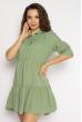 Платье с рукавами 3/4  632F008 мятный