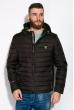 Куртка стеганая 120PELK449 черный / салатовый