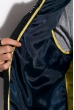 Куртка стеганая 120PELK449 темно-синий / желтый