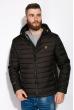Куртка стеганая 120PELK449 черный / оранжевый
