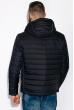 Куртка стеганая 120PELK449 темно-синий / красный