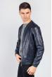 Куртка мужская стильная  712K002 чернильный