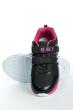 Кроссовки 11P117 junior черно-розовый