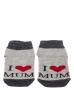 Носки 120PUK001-1 junior I Love Mum меланж