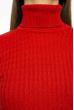 Гольф женский однотонный 613F001 красный