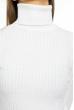 Гольф женский однотонный 613F001 белый