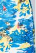 Шорты мужские пляжные принт морской 165V001-12 сине-желтый