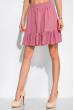 Кокетливый костюм (юбка и топ) 120PVC235 фрезовый