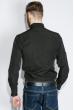 Рубашка мужская однотонная 333F007 черный