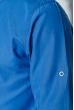Рубашка мужская однотонная 333F007 лазурный