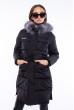 Куртка стеганая на кулиске 120PSKL1715 черный