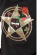 Костюм женский, юбка с кофтой 77PD837 черный