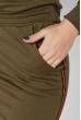 Костюм женский, юбка с кофтой 77PD837 хаки