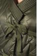 Пальто женское на завязках 69PD1058 хаки