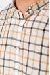 Рубашка 511F047 серо-бежевый