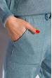 Костюм женский с люрексом 120PSKL020 лазурно-серый