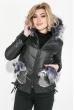 Куртка женская с вышитыми карманами 69PD987 черный