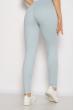 Лосины спортивные женские с надписью 636F004 голубой