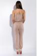 Комбинезон женский, широкая резинка на груди  81P1102 бежевый