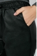 Брюки женские из экокожи, на резинке 64PD2231-4 черный