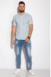 Рубашка 511F051 голубой