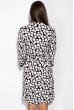 Платье 118P242 черно-белый