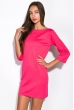 Платье 110P177 малиновый