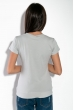 Футболка женская со стразами  81P7305-1 светло-серый