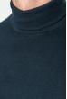 Гольф мужской однотонный 201F014 темно-синий