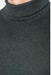 Гольф мужской однотонный 201F014 темно-серый