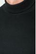Гольф мужской однотонный 201F014 черный
