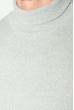 Гольф мужской однотонный 201F014 светло-серый